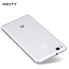 Carcasa Silicona Ultrafina Transparente T04 para Huawei P9 Lite Claro