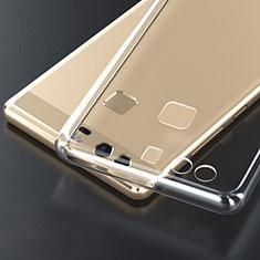 Carcasa Silicona Ultrafina Transparente T04 para Huawei P9 Plus Claro