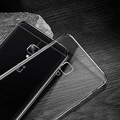 Carcasa Silicona Ultrafina Transparente T04 para OnePlus 3 Claro