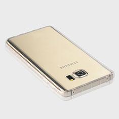 Carcasa Silicona Ultrafina Transparente T04 para Samsung Galaxy Note 5 N9200 N920 N920F Claro