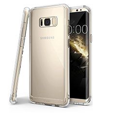 Carcasa Silicona Ultrafina Transparente T04 para Samsung Galaxy S8 Plus Claro