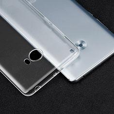 Carcasa Silicona Ultrafina Transparente T04 para Xiaomi Mi Note 2 Claro