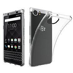 Carcasa Silicona Ultrafina Transparente T05 para Blackberry KEYone Claro