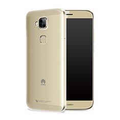Carcasa Silicona Ultrafina Transparente T05 para Huawei G9 Plus Claro