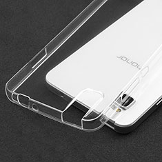 Carcasa Silicona Ultrafina Transparente T05 para Huawei Honor 7i shot X Claro