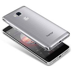Carcasa Silicona Ultrafina Transparente T05 para Huawei Honor Play 5X Claro
