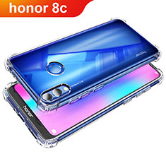 Carcasa Silicona Ultrafina Transparente T05 para Huawei Honor Play 8C Claro