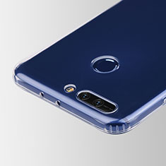 Carcasa Silicona Ultrafina Transparente T05 para Huawei Honor V9 Claro