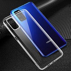 Carcasa Silicona Ultrafina Transparente T05 para Huawei Honor View 30 5G Claro