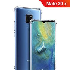 Carcasa Silicona Ultrafina Transparente T05 para Huawei Mate 20 X Claro
