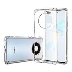 Carcasa Silicona Ultrafina Transparente T05 para Huawei Mate 40 Pro Claro