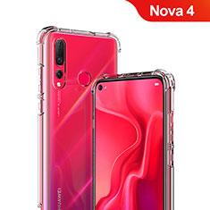 Carcasa Silicona Ultrafina Transparente T05 para Huawei Nova 4 Claro