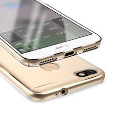 Carcasa Silicona Ultrafina Transparente T05 para Huawei P9 Lite Mini Claro