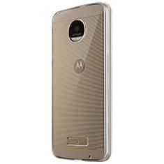 Carcasa Silicona Ultrafina Transparente T05 para Motorola Moto Z Play Claro