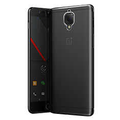 Carcasa Silicona Ultrafina Transparente T05 para OnePlus 3T Gris