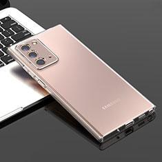 Carcasa Silicona Ultrafina Transparente T05 para Samsung Galaxy Note 20 5G Claro