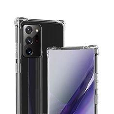 Carcasa Silicona Ultrafina Transparente T05 para Samsung Galaxy Note 20 Ultra 5G Claro