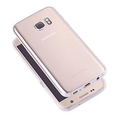 Carcasa Silicona Ultrafina Transparente T05 para Samsung Galaxy S7 G930F G930FD Claro