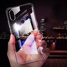 Carcasa Silicona Ultrafina Transparente T05 para Xiaomi Mi Mix 3 Claro