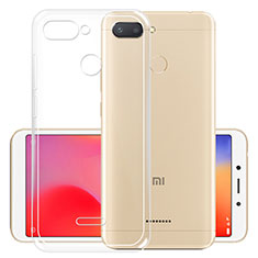 Carcasa Silicona Ultrafina Transparente T05 para Xiaomi Redmi 6 Claro