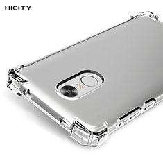 Carcasa Silicona Ultrafina Transparente T05 para Xiaomi Redmi Note 4X Claro