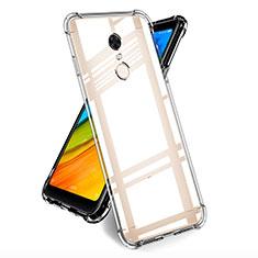 Carcasa Silicona Ultrafina Transparente T05 para Xiaomi Redmi Note 5 Indian Version Claro