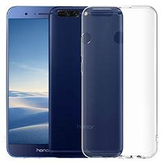 Carcasa Silicona Ultrafina Transparente T06 para Huawei Honor 8 Pro Claro