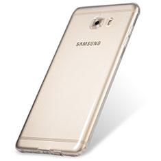 Carcasa Silicona Ultrafina Transparente T06 para Samsung Galaxy C9 Pro C9000 Claro