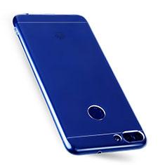 Carcasa Silicona Ultrafina Transparente T07 para Huawei Enjoy 7S Claro