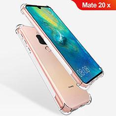 Carcasa Silicona Ultrafina Transparente T08 para Huawei Mate 20 X Claro