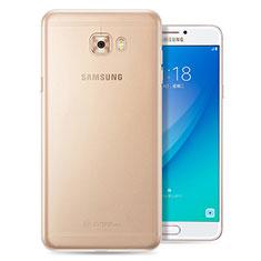Carcasa Silicona Ultrafina Transparente T08 para Samsung Galaxy C7 Pro C7010 Claro