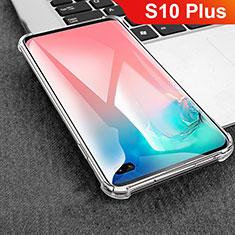 Carcasa Silicona Ultrafina Transparente T08 para Samsung Galaxy S10 Plus Claro