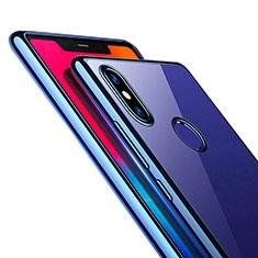 Carcasa Silicona Ultrafina Transparente T08 para Xiaomi Mi 8 SE Azul