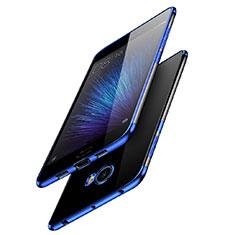 Carcasa Silicona Ultrafina Transparente T08 para Xiaomi Mi Note 2 Azul