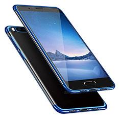 Carcasa Silicona Ultrafina Transparente T08 para Xiaomi Mi Note 3 Azul