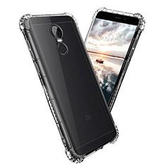 Carcasa Silicona Ultrafina Transparente T08 para Xiaomi Redmi Note 4X Claro