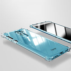 Carcasa Silicona Ultrafina Transparente T09 para Huawei Honor 6X Pro Claro