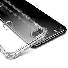 Carcasa Silicona Ultrafina Transparente T09 para Huawei Honor Note 8 Claro