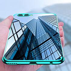 Carcasa Silicona Ultrafina Transparente T09 para Huawei Nova 2S Azul