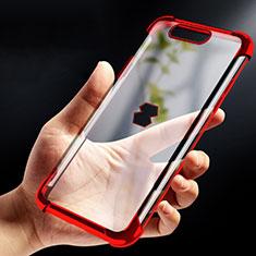 Carcasa Silicona Ultrafina Transparente T09 para Xiaomi Black Shark Rojo