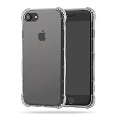 Carcasa Silicona Ultrafina Transparente T10 para Apple iPhone 7 Claro