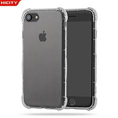 Carcasa Silicona Ultrafina Transparente T10 para Apple iPhone 8 Claro