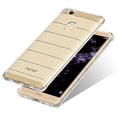 Carcasa Silicona Ultrafina Transparente T10 para Huawei Honor Note 8 Claro