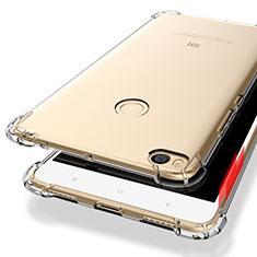 Carcasa Silicona Ultrafina Transparente T10 para Xiaomi Mi Max 2 Claro