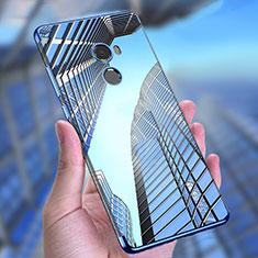 Carcasa Silicona Ultrafina Transparente T11 para Xiaomi Mi Mix 2 Azul