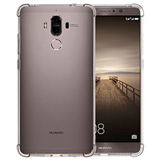 Carcasa Silicona Ultrafina Transparente T12 para Huawei Mate 9 Claro
