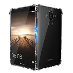 Carcasa Silicona Ultrafina Transparente T14 para Huawei Mate 9 Claro