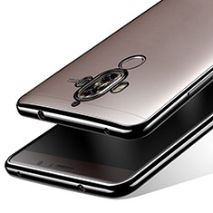 Carcasa Silicona Ultrafina Transparente T15 para Huawei Mate 9 Negro
