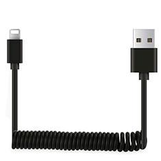 Cargador Cable USB Carga y Datos D08 para Apple iPhone 11 Negro
