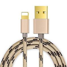 Cargador Cable USB Carga y Datos L01 para Apple iPhone 11 Pro Oro